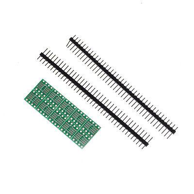 New 10pcs Sop8 So8 Soic8 Tssop8 To Dip8 Adapter To Dip Pin Header Sl