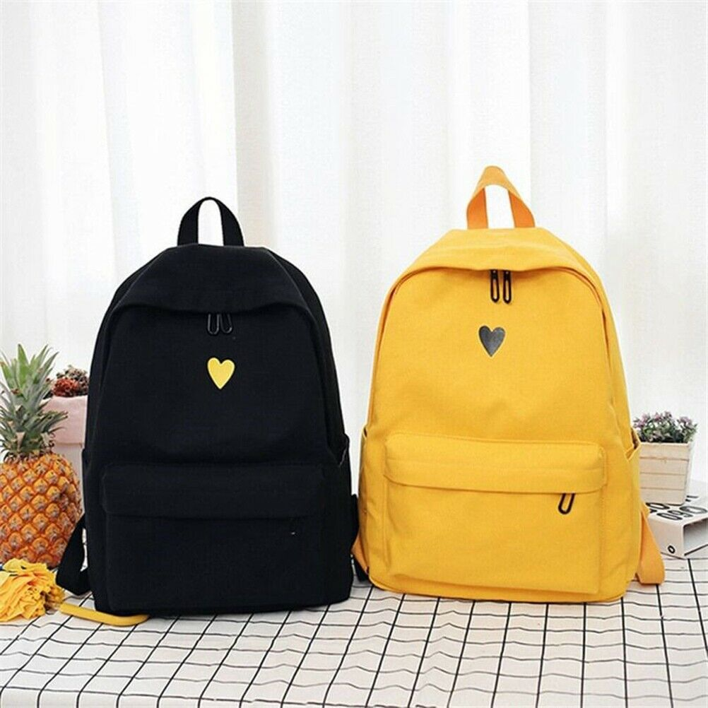 e97522516970 Details about Backpack Women Canvas Travel Bookbag School Bag Laptop  Rucksack for Teenage Girl