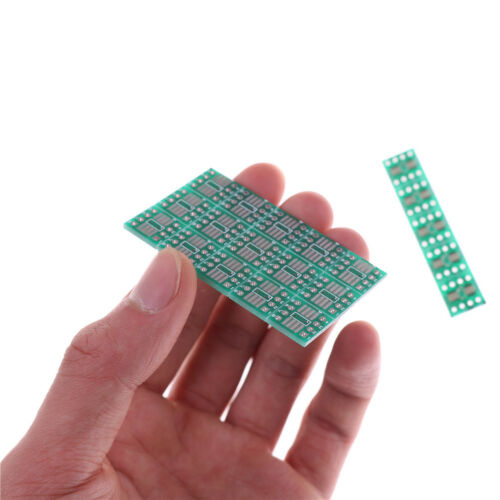 20PCS SOP8 SO8 SOIC8 TSSOP8 MSOP8 to DIP8 Adapter PCB DIY Conveter Board L/& SE