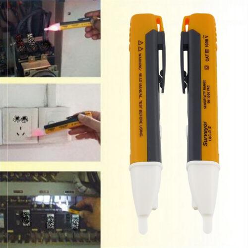AC 90~1000V Non-Contact LED Electric Alert Voltage Detector Sensor Tester TEG0HW
