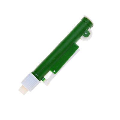 Lab Fast Release Pipette Pump Pipettor Transfer Pipette Pump 10ml Green S