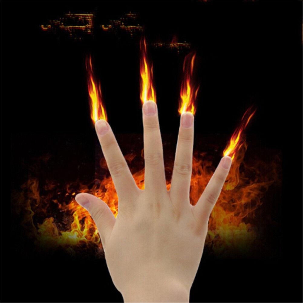 Magic Finger Fire Magic Stage Magic Tricks Magician Magic Toys AP