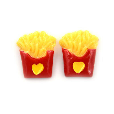 Miniature Dollhouse Small Love French Fries Kitchen Room Food Decor Mini World