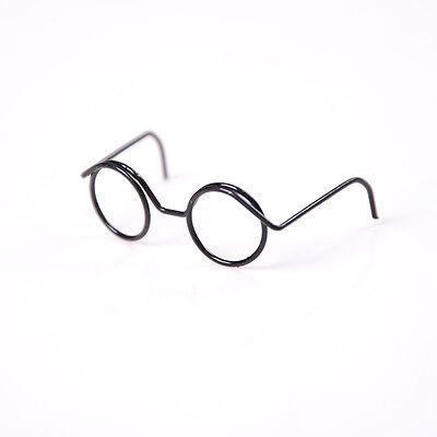 2X Runde Rahmen Lensless Retro coole Puppe Brille für 1/6 30cm Puppen WH W0DE