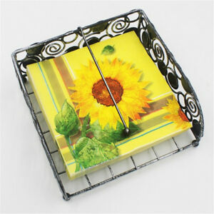 Sunflower Pattern Paper Napkins Disposable Birthday Wedding PartyTableDecor LE
