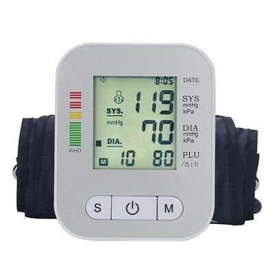 Tensiómetro de Brazo Digital Medidor Tension Arterial con Función Memoria MODA