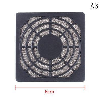 Dustproof 60mm Mesh Case Cooler Fan Dust Filter Cover Grill for PC Computer 9UK