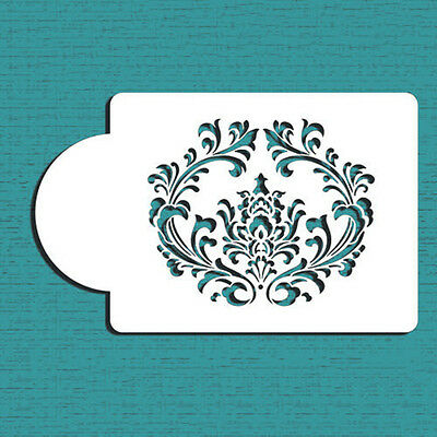 Filigree Damask Cake Stencil Fondant DesignYH Decorating Cookie Baking Tool  SG