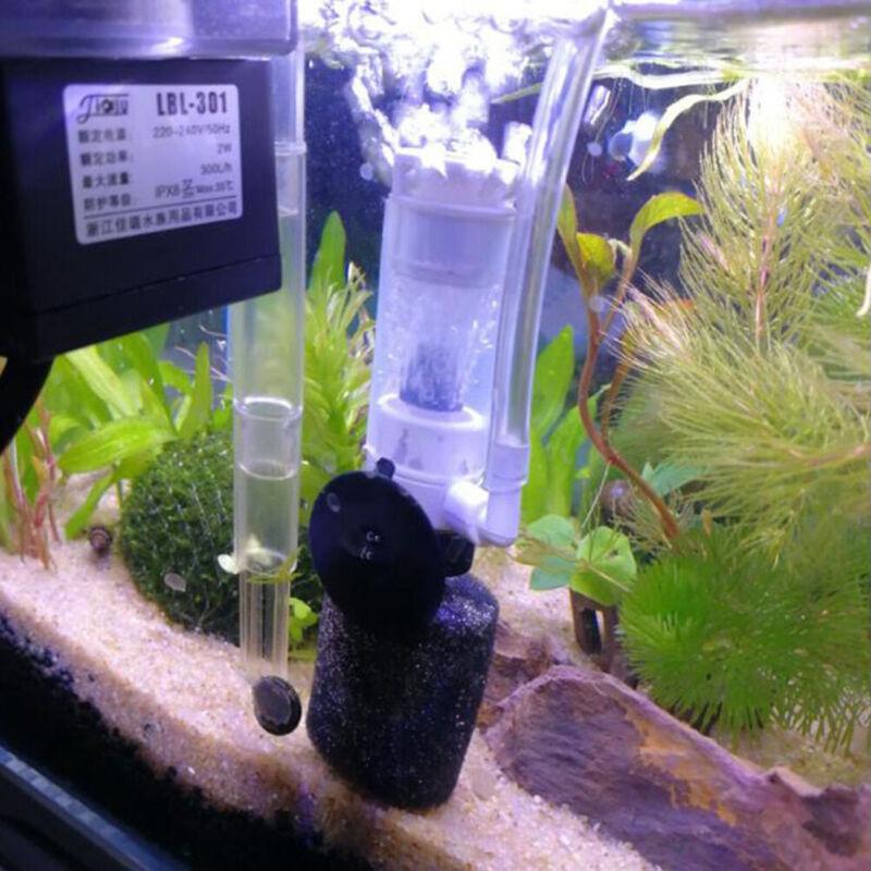 Aquarium Air Pump Filter Fish Tank Oxygen Pump Accessories S