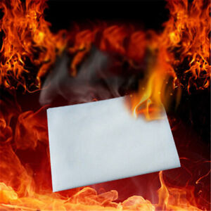 Flash Paper Fire Game Magic Trick Stage Adult Creative Gift White