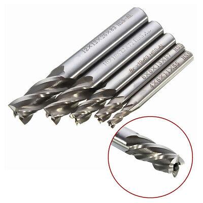 Straight Wood Bit Bits Kit Cnc Shank For 4681012mm Lathe Drill Bit Set