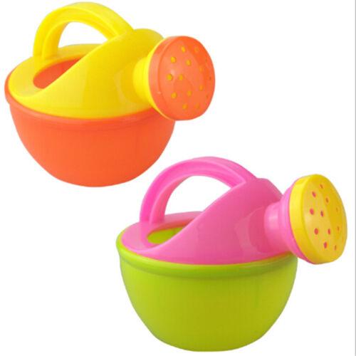 Baby Bad Spielzeug Kunststoff Gießkanne Strand Spielen Sand Wasser Werkzeug  W0