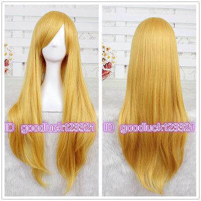 Fionna Wig (Fionna/Sailor Moon Sailor Minako Aino Venus Long Gold cosplay wig + a wig)