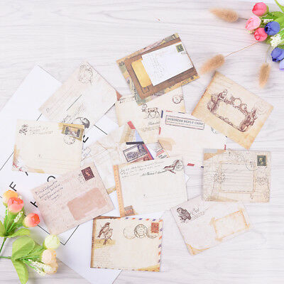 12pcs Mini Envelopes Colored Gift Card Small Metallic Designs Paper Envelope TH