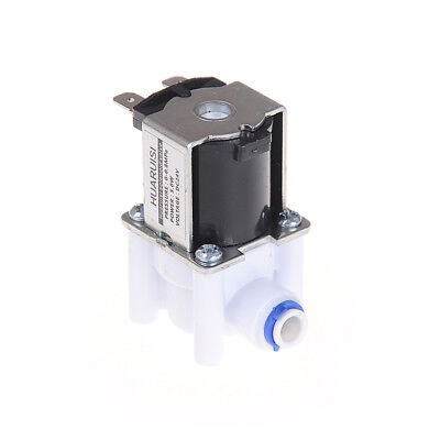 Electric Water Valve 24v Dc Solenoid Valve 14 Hose Connection Ro Controllenwus