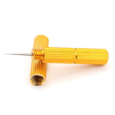 1pcs Airbrush Spray Cleaning Scraper Airbrush Spray Golden needle too Ec