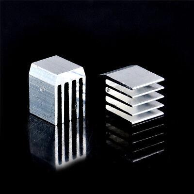 10pcs Aluminum Cooling 9x9x12mm Heat Sink Ram Radiator Heatsink Cooler Smmwuodfs