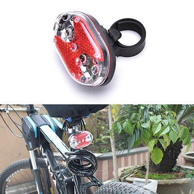 0 Sicherheits-licht (Bike Radfahren Fahrrad 9LED Blinklicht Lampe Sicherheit zurück hinten Schwan W0)