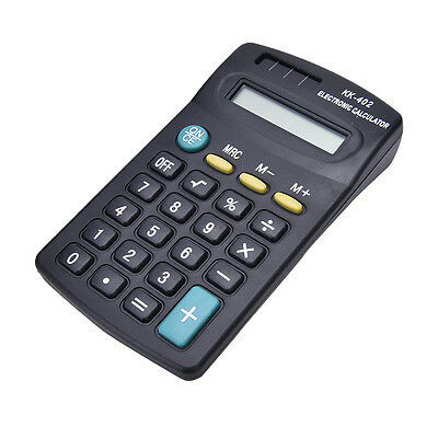 Pocket Mini 8Digit Electronic Calculator Battery Powered School/Office Company J