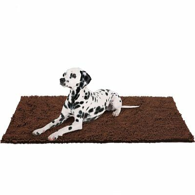 "Dog Doormat Pet Mat - 60""x30"" Microfiber Super Absorbent Rug for Cleaning Dirty"