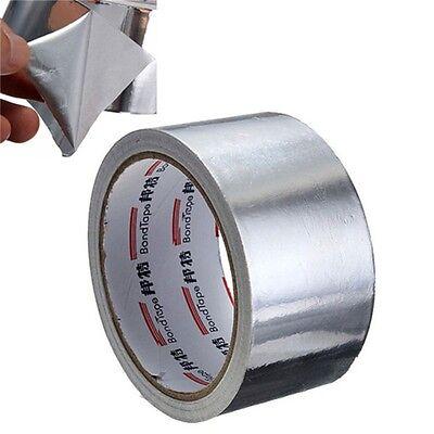 5cm17m Aluminium Foil Adhesive Sealing Tape Thermal Resist Duct Repairs Toolm
