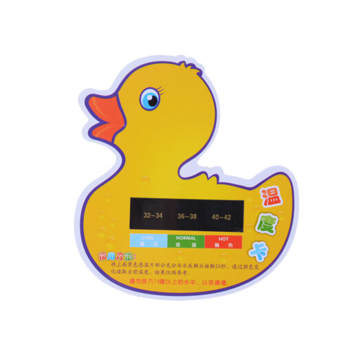 Cartoon LCDWater Temperature Meter Baby Take Shower Thermometer Bath  P1