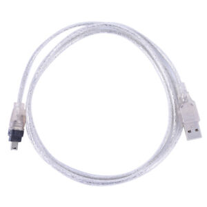 4ft USB 2.0 Male To Firewire iEEE 1394 4 Pin Male iLink Adapter Cable Cord UK.