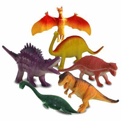 Spielfiguren Tiere 6er-Set große Dinosaurier  je 15 - 18 cm, Nr. 68360 ()