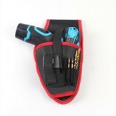 Portable Cordless DrillHolder DrillCordless Screwdriver Waist Power Tool Bag UK