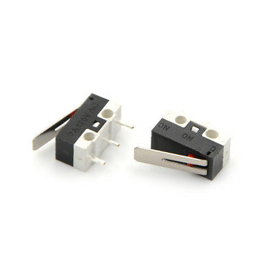 10pcs 2a 125v Micro Limit Switch Lever Roller Arm Actuator Snap Action Switchesh