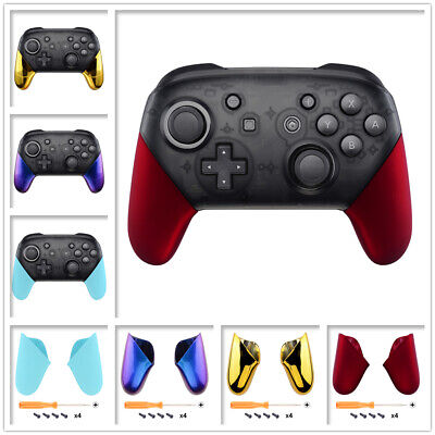 Handle Grips Shell Case Replacement Kit for Nintendo Switch Pro Game Controller