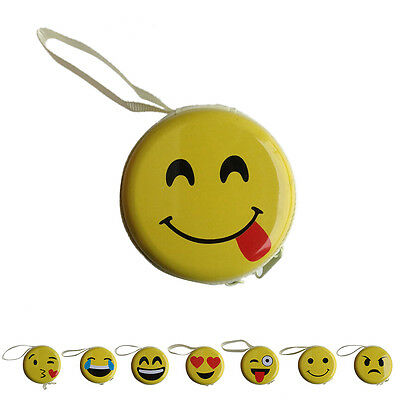 Fashion Emotion Smile Face Wallet Womens' Girls' Cartoon Coin Purse Key Wal ()