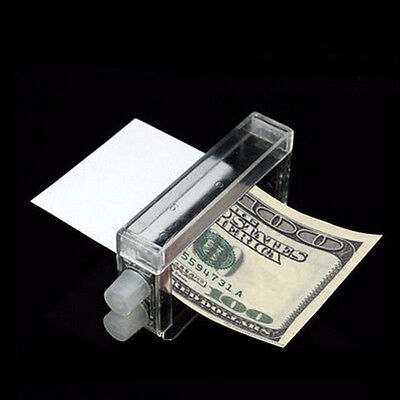 1 Pcs Money Printing Machine Money Maker Easy Magic Trick Toys Magician Props WB