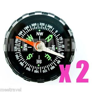 2x-Liquid-filled-Camping-Compass-Hiking-Bulk-NEW-LOT