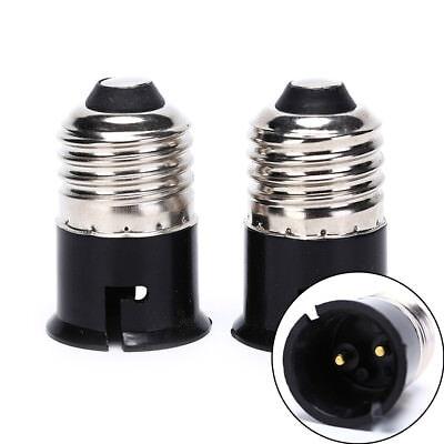 1 pc  E27 TO B22 Base LED Light Lamp Bulb Adapter Converter Socket Change SH