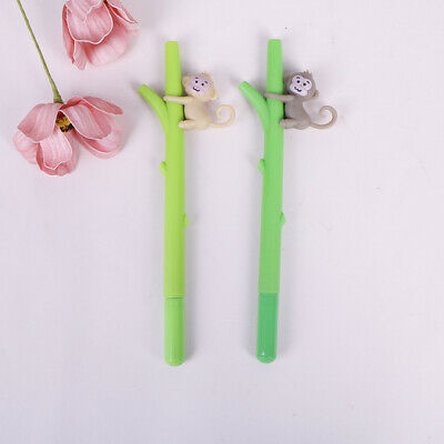 1pc monkey pen creative cartoon novelty gel pen for school office supplies BI - Novelty Office Supplies