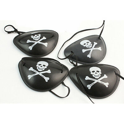 2X Pirate Eye Patch Skull Crossbone Halloween Party Favor Costume Kids Toy 201JB - Jb Halloween Party