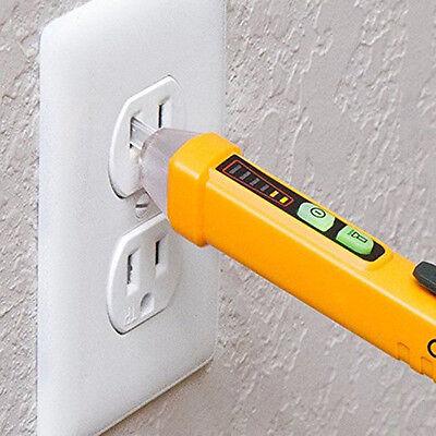 Voltage Tester Pen Acnon-contact Electric Volt Alert Detector Sensor 12-1000v A