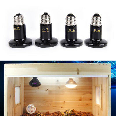 Thickened Infrared Ceramic Emitter Heat Light Bulb Lamp For Reptile Pet BroodeQP - $7.62