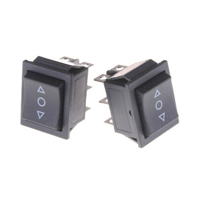 2x 6 Pins On-off-on Rocker Switch Momentary Rocker Switc Rs