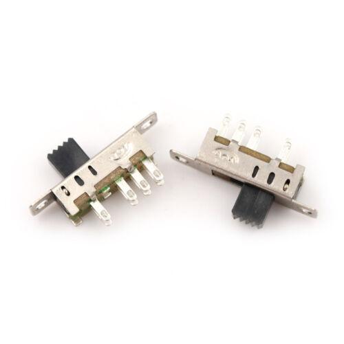 20pcs Mini Schiebeschalter On-OFF 2Position Micro Slide Kippschalter SMD  ZY