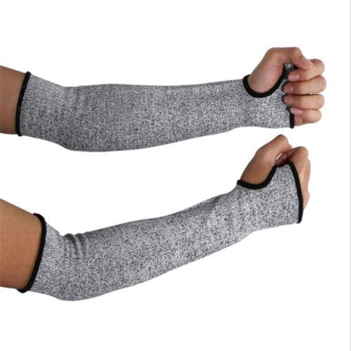 Sicherheit Anti Hitze Schnitt beständige Ärmel Arm Guard Protector Handschuhe