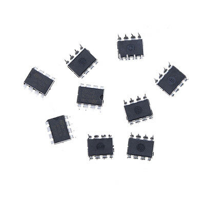 10pcsset Ua741 Ua741cp Ua741cn St Dip-8 Operational Amplifiers Op Amp Ic Ve