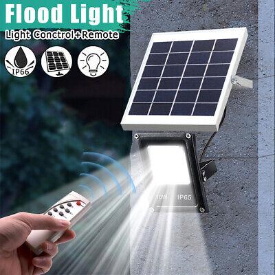 LED Luz Lámpara Solar Sensor de Movimiento Para Jardín Patio Camino luz...