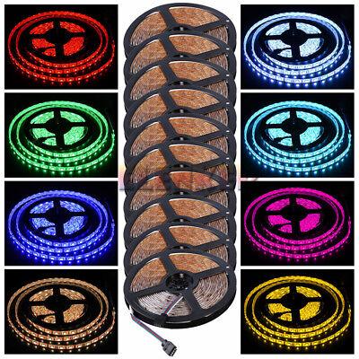 nj-store 10Pcs 5M 500cm RGB SMD 5050 150LEDs Flexible LED Strip Light Lamp DC12V - Party Stores Nj
