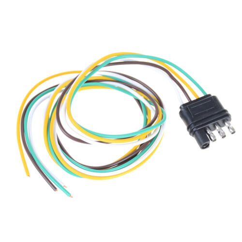 Details about Trailer Light Wiring Harness Extension 4 Pin Plug 18 on