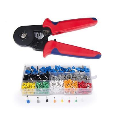 New Hope Store Crimper Tool Kit Crimp Ferrule Including 800pcs Insulated Wire