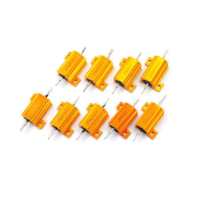 Ohm 25 Watt Wirewound Resistor - 25 Watt Power 0.01-100 Ohm 5% Aluminum Casing Wire Wound Resistor HICA