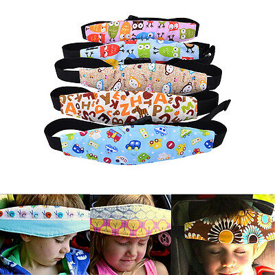 Safety Baby Kids Stroller Car Seat Sleep Nap Aid Head Fasten Support Holder Belt