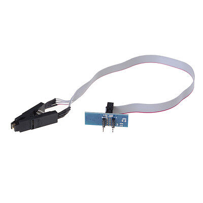 New Soic8 Sop8 Flash Chip Ic Test Clips Socket Adpter Bios Programmer New Z
